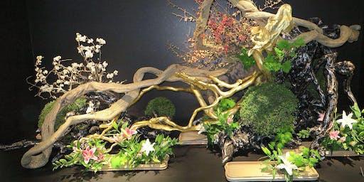 Gala Ikebana Event in Ottawa with  Visiting Grand