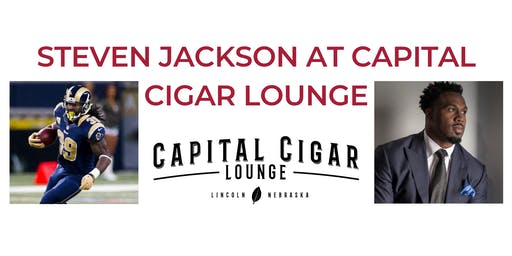 Steven Jackson at Capital Cigar Lounge