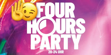 4 Hours Party | 16+ (ohne U18-Formular) Tickets