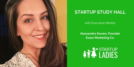 Startup Study Hall with Alessandra Souers tickets