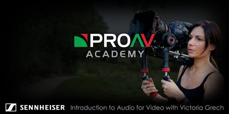 Introduction to Audio for Video with Victoria Grech tickets