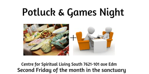 Potluck and Games Night