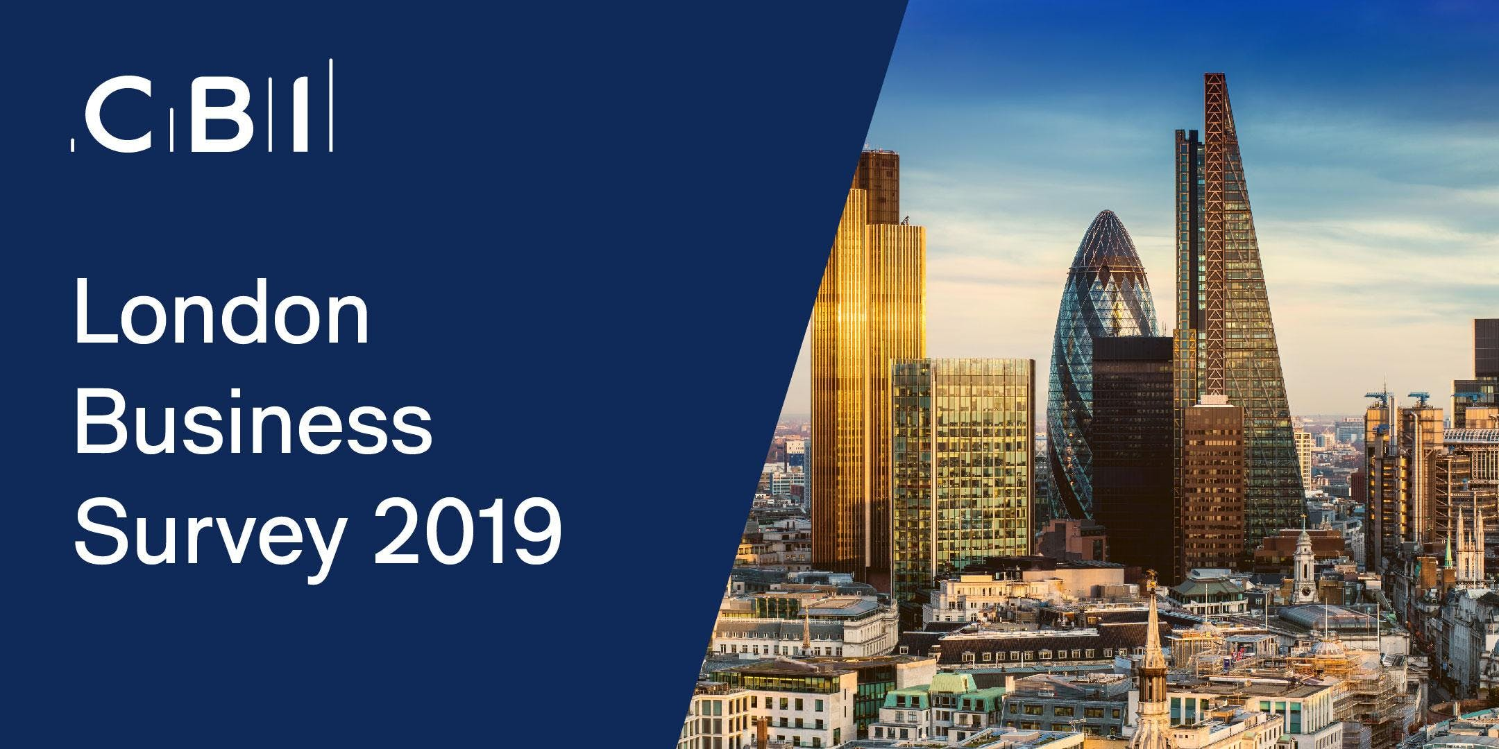 CBI London Business Survey 2019 Launch