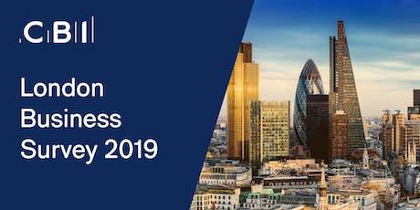 CBI London Business Survey 2019 Launch  tickets