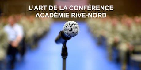 S'exprimer pleinement en public! Cours gratuit Laval mercredi billets