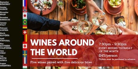 Wines Around The World tickets