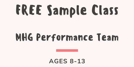 MHG Performance Team - FREE Sample Class tickets
