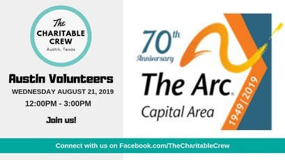Volunteer with students at The Arc of the Capital Area tickets