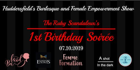 The Ruby Scandaleux - Birthday Soirée tickets