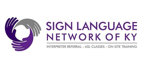 Adult Sign Language Class Level 1 with Hillary - Tuesdays 6:30-8:30pm