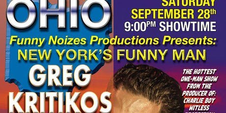 Sober is the New High Starring Greg Kritikos tickets