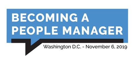 Becoming a People Manager - Washington D.C. tickets