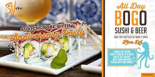 SuViche SoBe's Anniversary Party