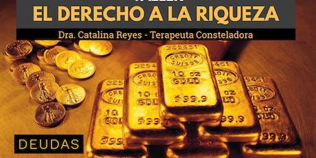 """Taller """"Derecho a la Riqueza""""  boletos"""
