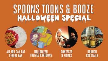 """Spoons, Toons & Booze Halloween Special"""