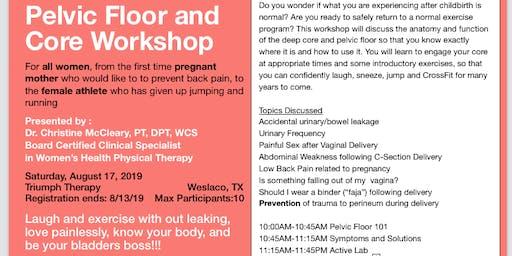 Pelvic Floor & Core Awareness Workshop