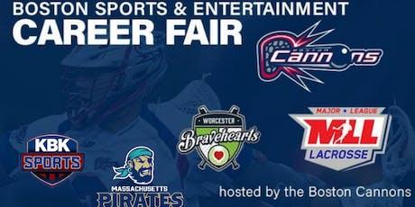 Boston Sports & Entertainment Career Fair Presented by TeamWork Online tickets