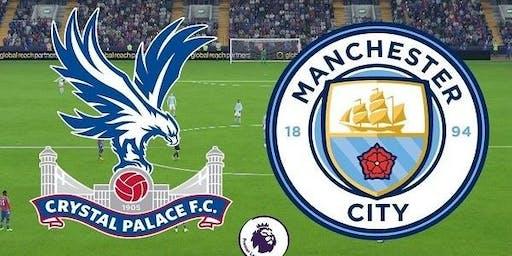 Man City vs Crystal Palace £10 Burger And A Pint Deal