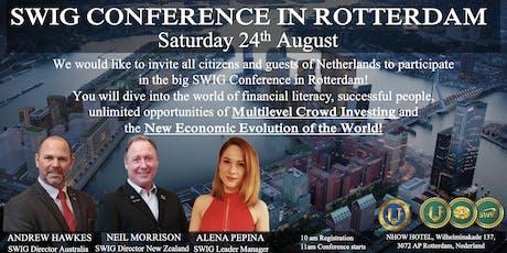 SWIG PRESENTATION IN ROTTERDAM tickets