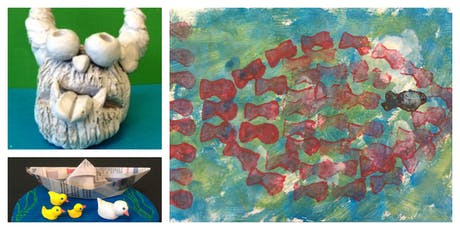 Story Time Art Weekly Class with Big City Readers (18 Months-6 Years) tickets