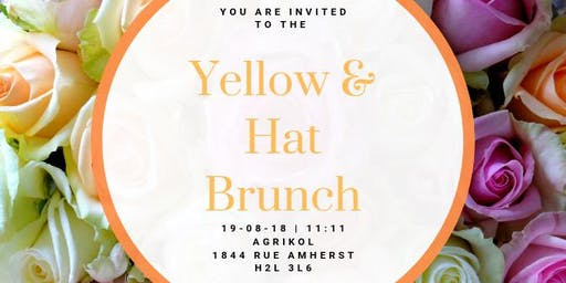 Yellow And Hat Brunch