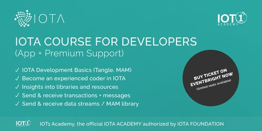 IOTA Course for Developers // Learning App with Premium Support