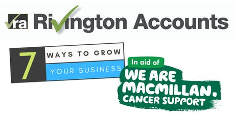 Macmillan Coffee Morning & 7 Ways to Grow Your Business Workshop tickets