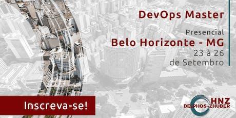 DevOps Master Belo Horizonte Presencial Setembro 2019 ingressos