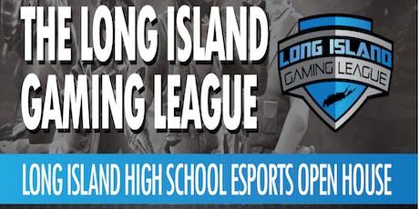 """FREE"" Long Island High School Esports Open House Event tickets"
