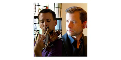 Violinist Andrew Sords with pianist Timothy Durkovic