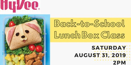 Back-to-School Lunch Box Class tickets