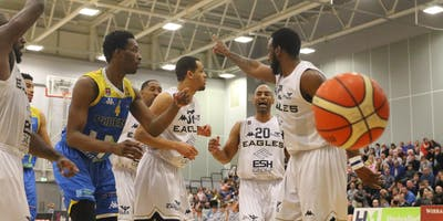 Cheshire Phoenix vs Newcastle Eagles