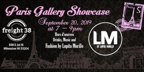 Paris Gallery Showcase tickets