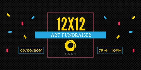 12x12 Art Fundraiser 2019 tickets