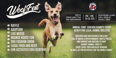 Woof Fest 2019 tickets