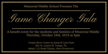 Annual Game Changer Gala & Silent Auction tickets