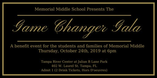 Annual Game Changer Gala & Silent Auction