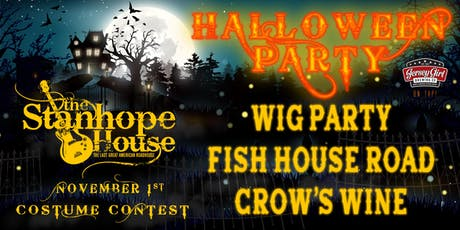Wig Party Halloween Party at The Stanhope House tickets