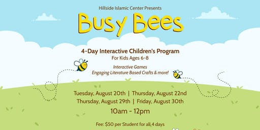 Children's Busy Bees Program