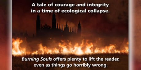 """Burning Souls"" Book Tour: a Climate Change Thriller novel based in reality tickets"