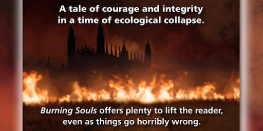 """Burning Souls"" Book Tour: a Climate Change Thriller novel based in reality"
