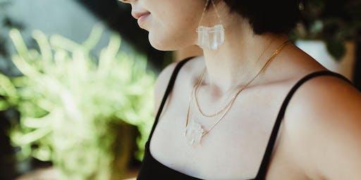 Trans-Pecos: DIY Healing Crystal Jewelry with Minx & Wild