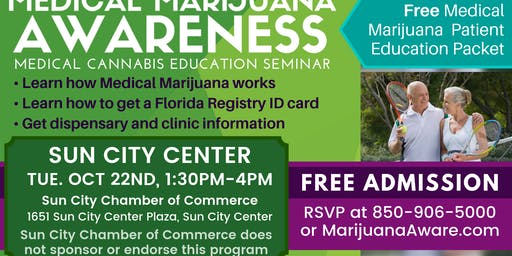 Sun City Center- Medical Marijuana Awareness Seminar