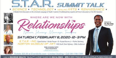 S.T.A.R. Summit Talk : Where Are We Now With Relationships ?