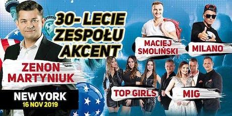 30-LECIE ZESPOŁU AKCENT tickets