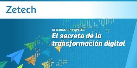 Oficinas sin Papeles: El secreto de la transformación digital | Perú entradas