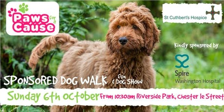 St Cuthbert's Hospice Paws For A Cause 2019 - Charity Dog Walk & Fun Dog Show  tickets