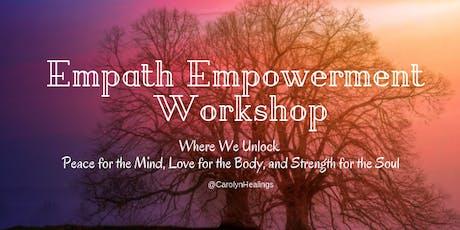 Empath Empowerment Workshop tickets