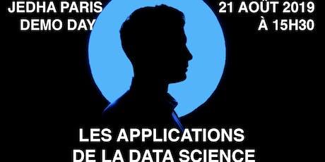 Les applications de la Data Science - Projets finaux de nos élèves Data Scientists - Programme Fullstack billets