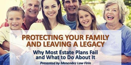 Free Legacy Wealth Estate Planning Workshop tickets
